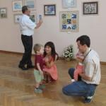 Черновицкая художница поделилась с горожанами своими произведениями в технике акварель
