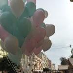 На День города на улицы. Кобылянской рисовали портреты, сбивали шарики и торговали сувенирами
