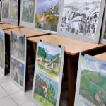 До Сторожинца привезли выставку детских рисунков, которая путешествует страной