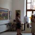 Ко Дню независимости в Черновцах члены союза художников Буковины подготовили выставку