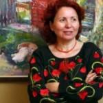 Марина Рыбачук презентовала в Черновцах выставку Террасового город в зеленой юбке