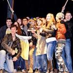 Черновчанам показали спектакль » Революция достоинства. Как то было
