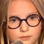 Дочка Яценюка приняла участие в отборе на вокальное шоу Голос. Дети