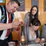 Буковинец Михаил Дутка: Написание писанки начинается с молитвы