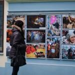 Черновчанам показали фотографии более 40 фотографов, посвященные Революции Достоинства
