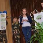 В Черновцах для участников АТО организовали поздравительный концерт