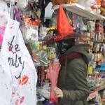 Новинками нынешнего Хэллоуина в Черновцах есть оторванные руки и ноги