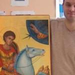 Художник, который расписывал храмы в Донецке и Москве, покажет свои работы черновчанам