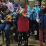 Черновчане приняли участие в мастер-классе по игре на овощах