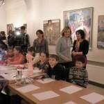 В Черновцах продолжается Всеукраинское художественное праздник детского творчества Я творю мир